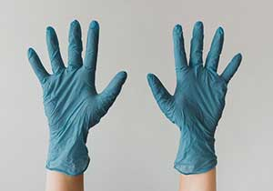 Latex Gloves/ Shoe Covers